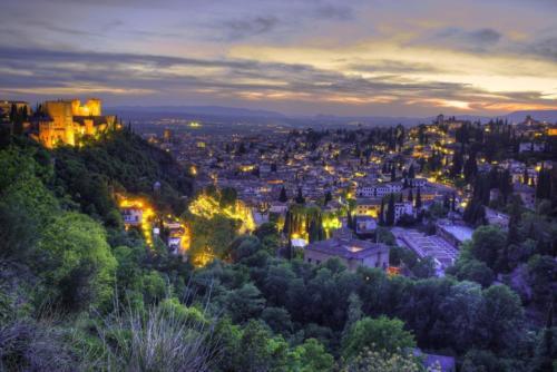 Granada notturna