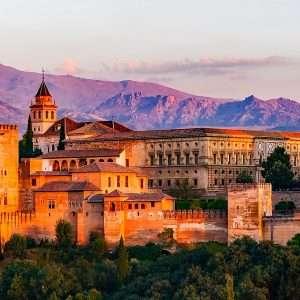 tramonto Granada