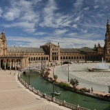 Piazza di Spagna a Siviglia